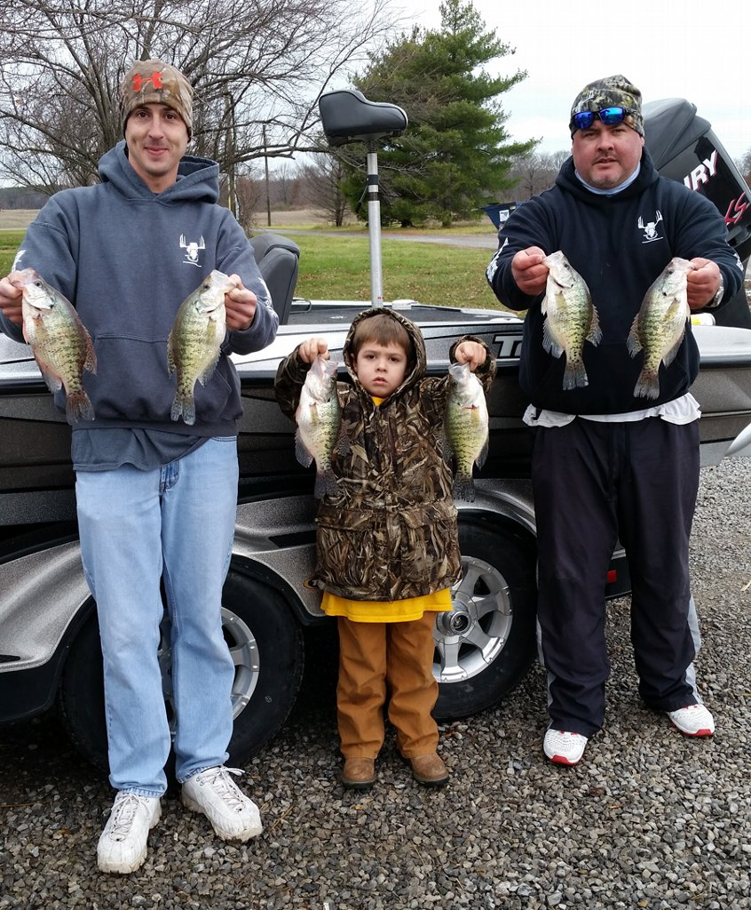 Slaying the winter crappie in Southern Illinois